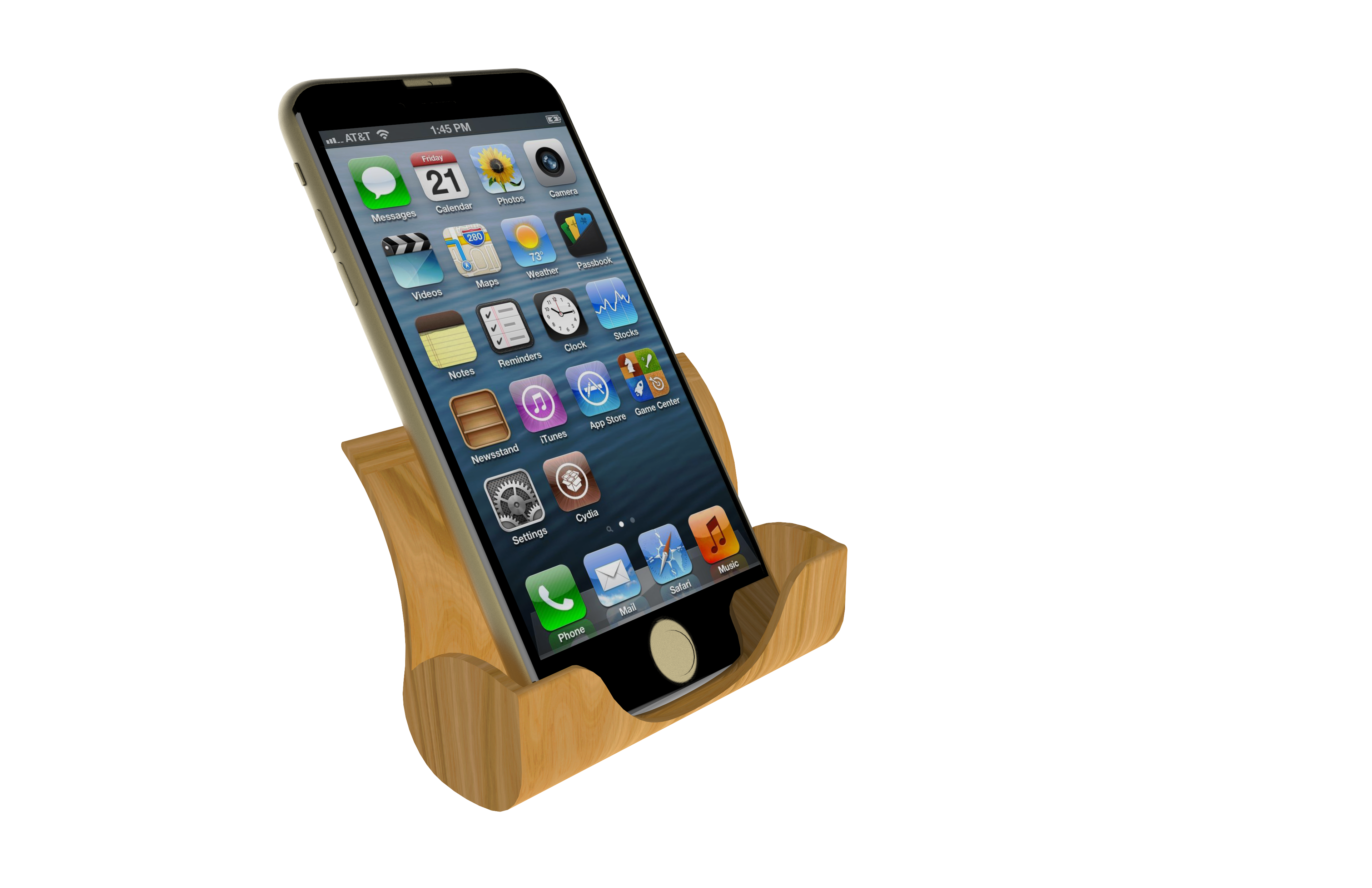 untitled.105.png Download free STL file Iphone Docking Station • 3D printer object, Brahmabeej