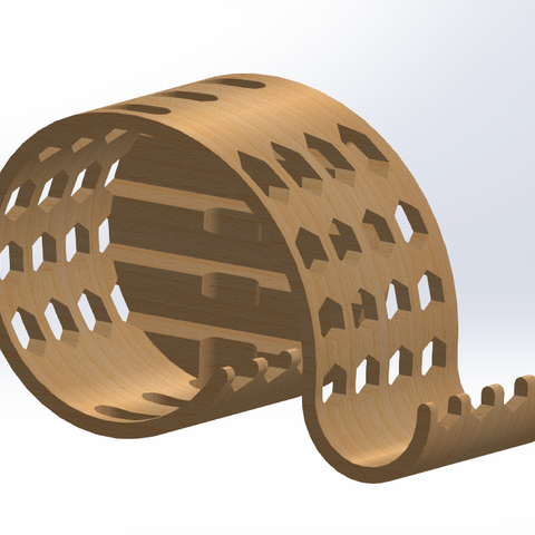 Modelos 3D para imprimir gratis Soporte de teléfono móvil, Brahmabeej