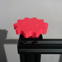 Free 3d print files CR-10 Bigger Z-Axis Manual Adjustment Knob, baschz