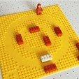 Impresiones 3D gratis Placas Base Crop Circle compatibles con LEGO, baschz