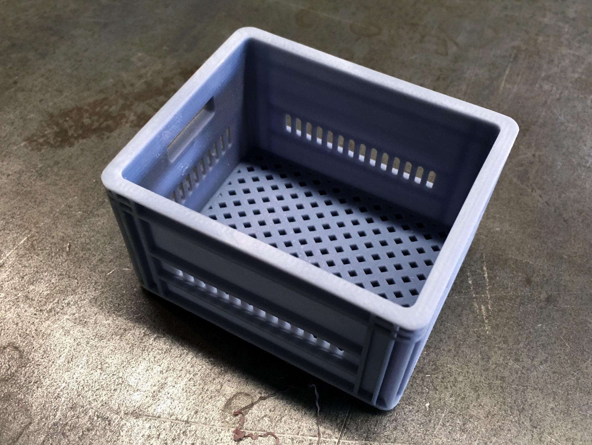 COB_Milk_Crate_02.jpg Télécharger fichier STL CRATEFULL OF | Caisse de lait 1/6 Un sixième de l'échelle • Design imprimable en 3D, baschz