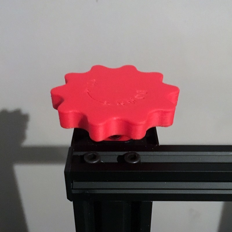 CR10_Z-axis-cover-plate-and-knob_by-Baschz-Leeft-bigger1.jpg Download free STL file CR-10 Z-Axis Manual Adjustment Knob (also Ender 3, CR-10 mini, Hictop, Tevo Tornado)  • 3D printing design, baschz