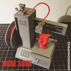 Download free 3D printing templates Mini Monoprice | MPSM miniature, baschz