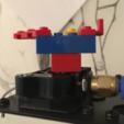 Modelos 3D para imprimir gratis MPSM LEGO Base Spinner (construya cualquier cosa en la parte superior!), baschz