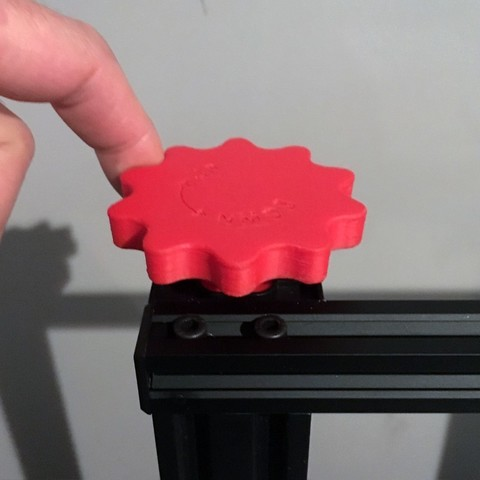 CR10_Z-axis-cover-plate-and-knob_by-Baschz-Leeft-bigger3.jpg Download free STL file CR-10 Z-Axis Manual Adjustment Knob (also Ender 3, CR-10 mini, Hictop, Tevo Tornado)  • 3D printing design, baschz