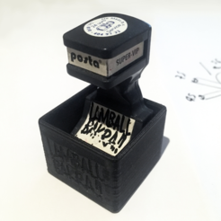 Capture d'écran 2017-09-07 à 14.33.07.png Download free STL file Lamball Bakra Stamp Stand • 3D printable template, baschz