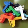 Impresiones 3D gratis Spoolholder de la caja de leche holandesa, baschz