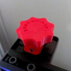 Download free STL file CR-10 Z-Axis Manual Adjustment Knob (also Ender 3, CR-10 mini, Hictop, Tevo Tornado)  • 3D printing design, baschz
