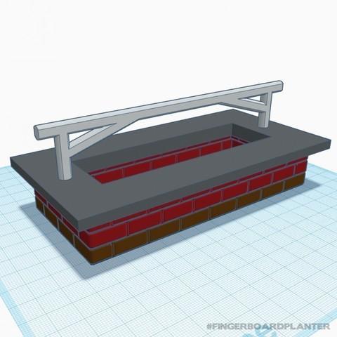 baschz-leeft-fingerboard-planter-3.jpg Download free STL file Modular Fingerboard Ramp & Planter • Object to 3D print, baschz