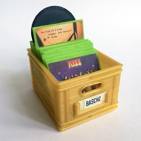 Free 3D model CRATEFULL OF | Vinyl Record Collection, baschz