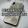 Télécharger fichier STL gratuit Le Mandalorien   Beskar Steel iPhone X Case pour iPhone • Objet pour impression 3D, baschz