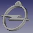 Télécharger STL gratuit Touche voiture Opel, 3D-Drucker
