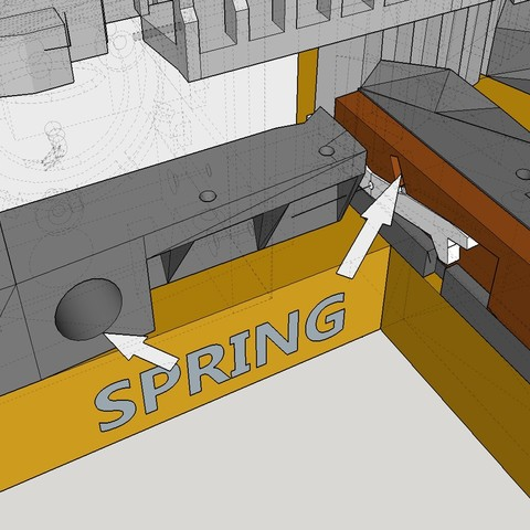 YOU NEED SPRINGS TINY AND BIG .jpg Download free STL file Hogwarts School of Witchcraft • 3D printer template, Valient