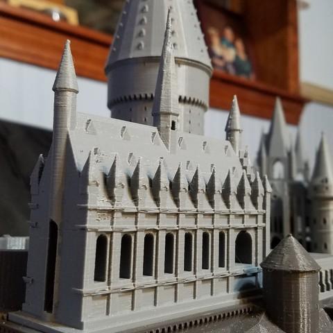 20170614_045440.jpg Télécharger fichier STL gratuit Hogwarts School of Witchcraft • Plan à imprimer en 3D, Valient