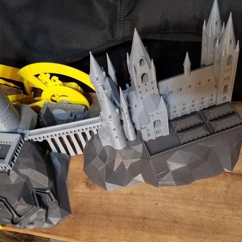 20170614_045103.jpg Download free STL file Hogwarts School of Witchcraft • 3D printer template, Valient