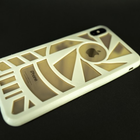 3d iphone xs case