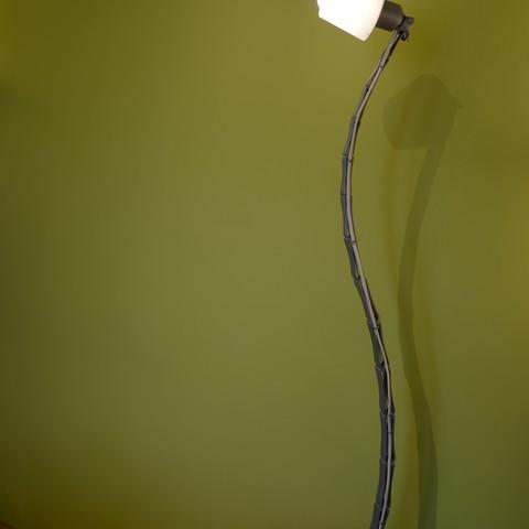 L1020320.JPG Download STL file Adjustable lamp - with vertebrae  • 3D printable object, Ciokobango