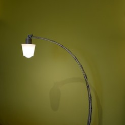 STL Adjustable lamp - with vertebrae , Ciokobango