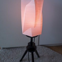 L1030500.jpg Download STL file Triangle and hexagon lampshade • Template to 3D print, Ciokobango