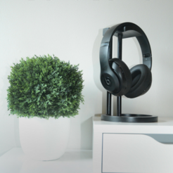 Download STL file Infinity Headphone Stand • 3D print model, Adylinn