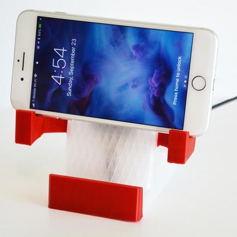 Download 3D printing files Dual Orientation Standing Wireless Charger (Landscape + Portrait), Adylinn