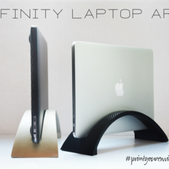 Download STL file Infinity Laptop Arc • 3D printable design, Adylinn