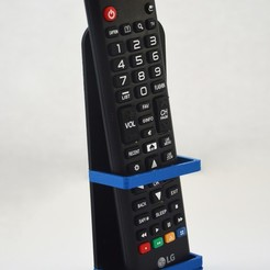 STL files Wall Mounted TV Remote Holder, Adylinn