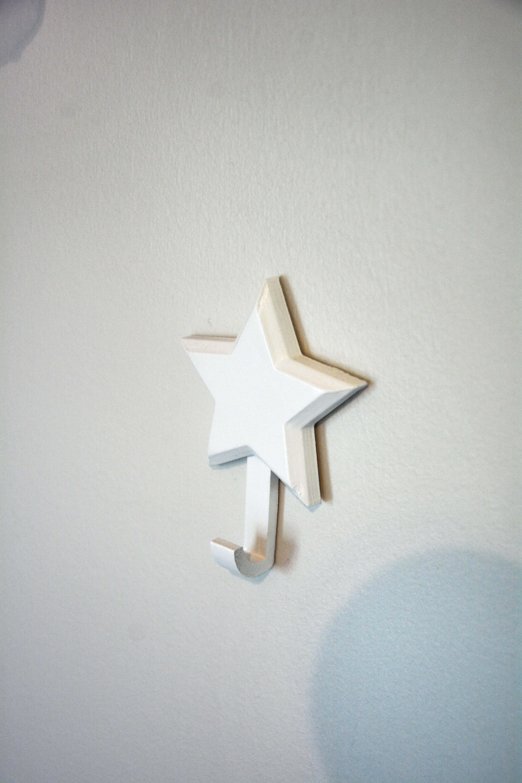 MoonAndStarsHooks-3.jpg Download STL file Moon and Star Wall Hooks • 3D print template, Adylinn