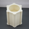 Descargar archivos STL gratis Jardinera - Molde o maceta imprimible en 3D, Adylinn
