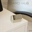 Download STL file SD Card Hub • 3D print model, Adylinn