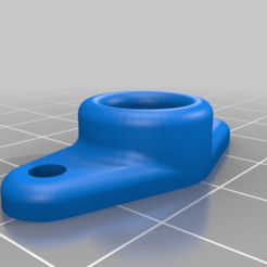 "d7f4ef3856eab888a427186ef5363c2d.png Download free STL file 1/8"" BSP Bowden connector mount • Model to 3D print, frankv"