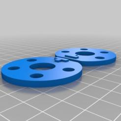 Télécharger fichier 3D gratuit Disques de tige maîtres pour Makerbot 5 cyl radial, frankv