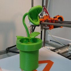 Free 3D printer model Plant Piranha, CommeUneImpression