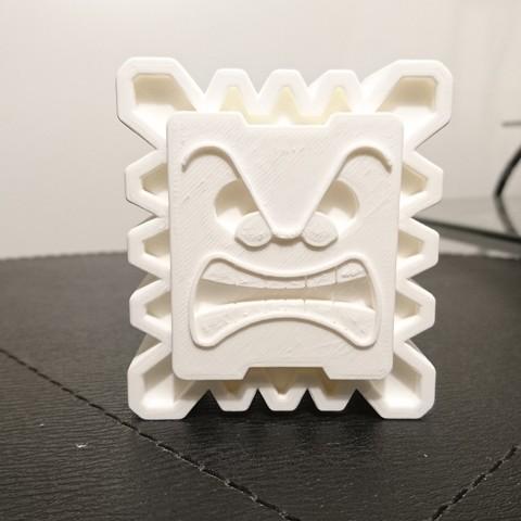 Fichier impression 3D gratuit Thwomp, CommeUneImpression
