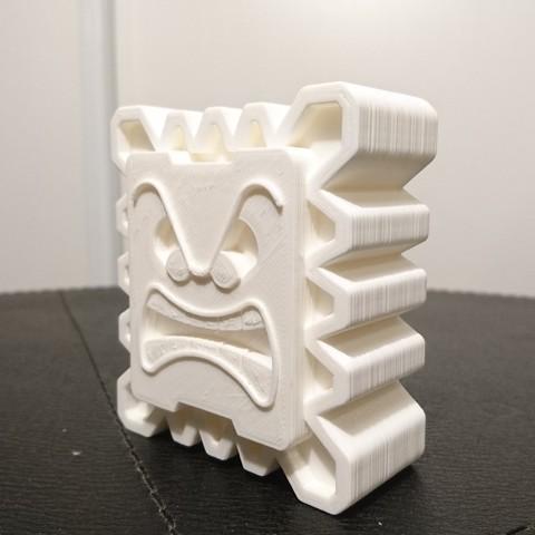 DSC_0156.JPG Download free STL file Thwomp • Object to 3D print, CommeUneImpression