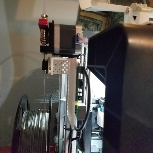 Télécharger fichier STL gratuit Support de capteur à filament RPi pour da Vinci Jr, mjf55