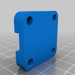 Download free 3D printer designs Rail Clamp for bottle cutter, mjf55