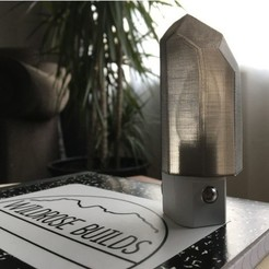 Free 3D printer model Quartz Night Light!, wildrosebuilds