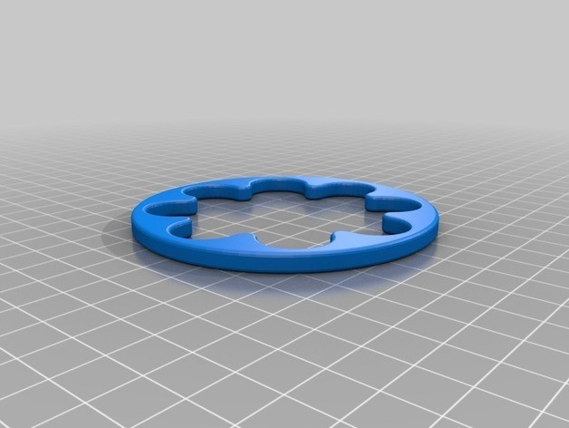 20846b0e3f300b28556236f1a631a703_preview_featured.jpg Download free STL file Marble Lazy Susan Bearing (No Hardware Required!) • 3D printer template, wildrosebuilds