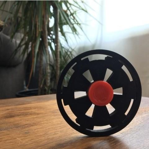 Download free 3D model Imperial Crest Fidget Spinner, wildrosebuilds