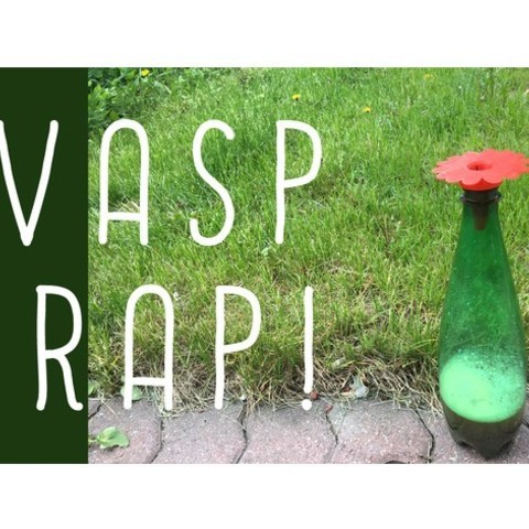 Download free STL file Wasp Trap (redesigned!) • 3D printer design, wildrosebuilds