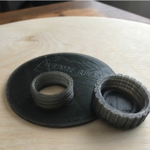 Download free 3D printing files Easy Pour Mason Jar Lid, wildrosebuilds