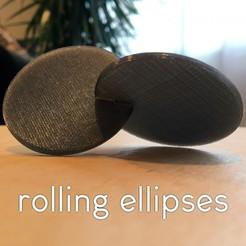 resize-squarethumb.jpg Télécharger fichier STL gratuit Jouet de bureau Rolling Ellipses Fidget ! • Modèle pour impression 3D, wildrosebuilds