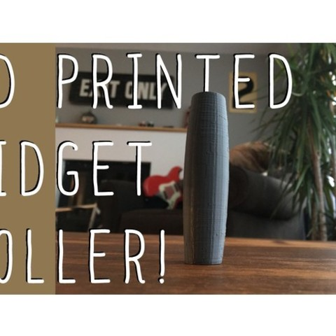 Download free STL file Fidget Roller (rolling stick toy) • 3D printing object, wildrosebuilds