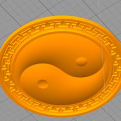 Download free 3D printing templates Taichi Pendant, AramisFernandez