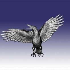 odo0X6cPVqE[1.jpg Download free STL file don juan matus crow • Model to 3D print, AramisFernandez