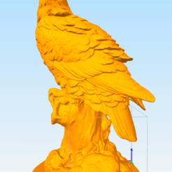 Télécharger fichier 3D gratuit Aigle, AramisFernandez