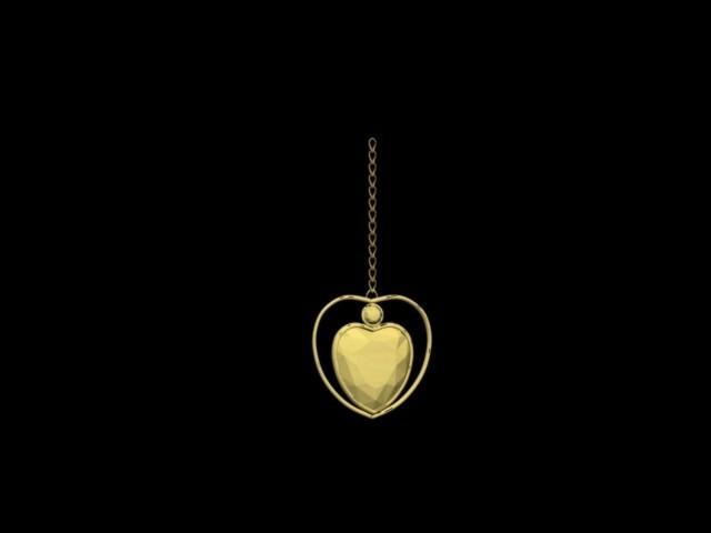 NECKLACE.jpg Download STL file NECKLACE HEART • 3D print template, AramisFernandez