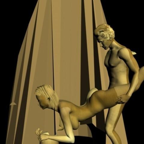 Impresiones 3D IPHONE STAND SEX PORN TITS ELF, AramisFernandez