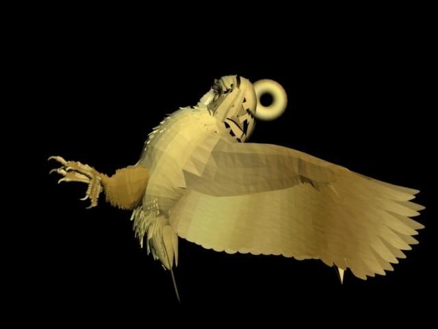 fghfhhhh.jpg Download STL file owl pendant • 3D printer object, AramisFernandez